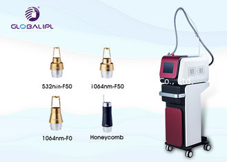Professional Nd Yag Laser Machine Pigmentation Removal 1 - 15hz Frequency