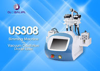 1-50W/Cm2 Rf Cavitation Machine / Diode Laser Face Lifting Body Slimming Machine