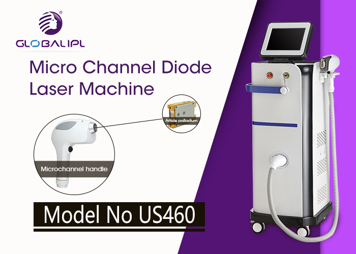 Professional 808nm Diode Laser Soprano XL Hair Removal Microchannel Device
