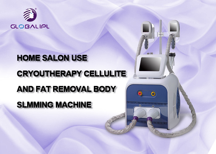 2 Head Cold Therapy Ultrasonic Cavitation Body Slimming Machine Fat Freeze Machine