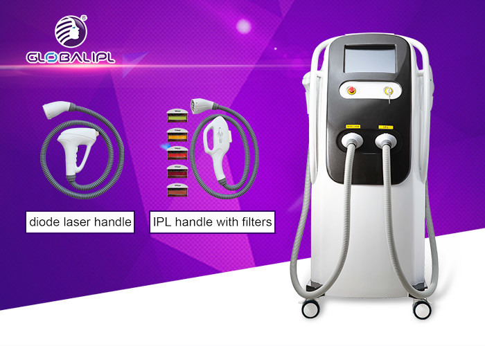 Professional Beauty IPL Diode Laser Equipment SHR 2500W For Hair Removal