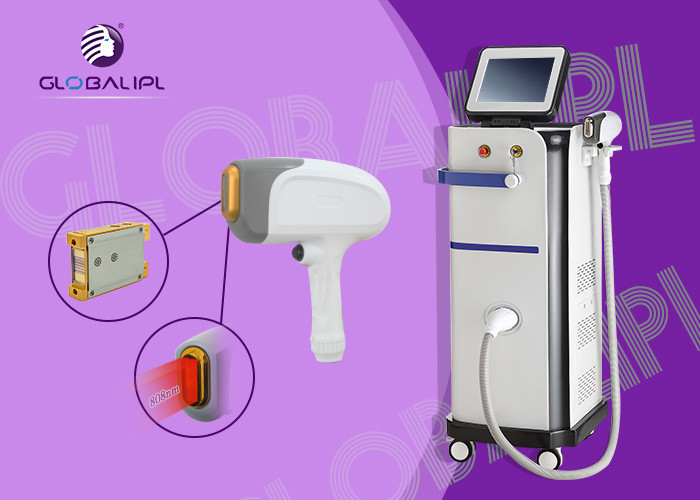 High Power 808 Diode Laser Hair Removal Machine Fda Ce Microchannel