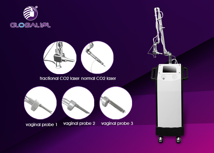 7 Scan Shapes CO2 Fractional laser Machine Remove Chloasmas And pigmentation