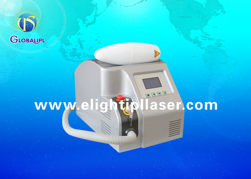 Permanent Q Switched Laser Tattoo Removal Machine For Beauty Salon 6ns