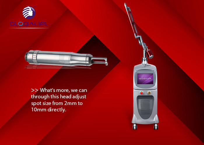 Skin Rejuvenation Nd Yag Laser Tattoo Removal Machine Age Spot Removal 650nm - 670nm Wavelength
