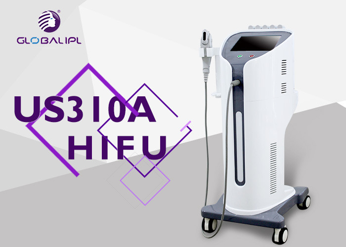 Skin Lifting Tightening HIFU Machine Wrinkle Removal 0.1 - 2.5J Power